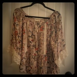 Woman's Floral Top